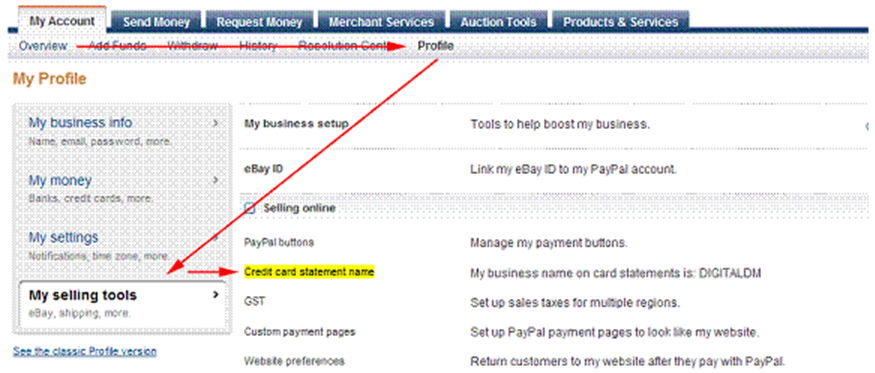 how set up paypal account